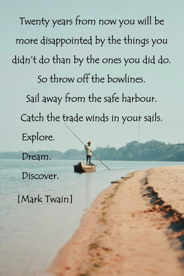 Twain - twenty yrs quote